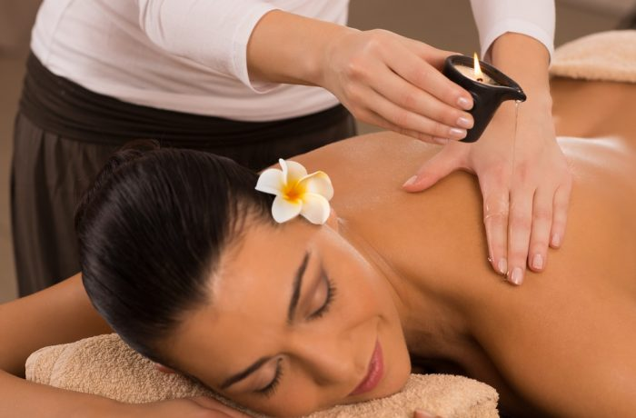 Luxurious Candle Warm Oil Massage